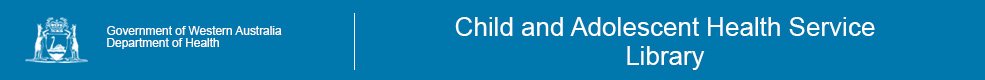 Child and Adolescent Health Service Library