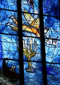 A Judaic image by Chagall