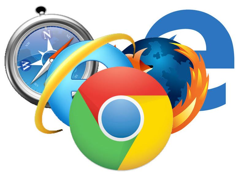images of different browsers