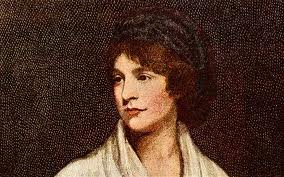 Color painting portrait of Mary Wollstonecraft Woolf