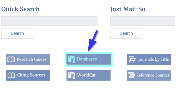 Screenshot of MSC library's home page