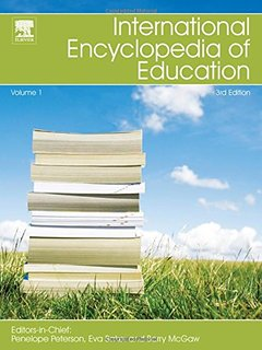 international encyclopedia of education book cover