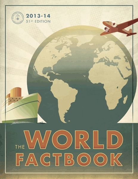 2013-2014 World FactBook Cover