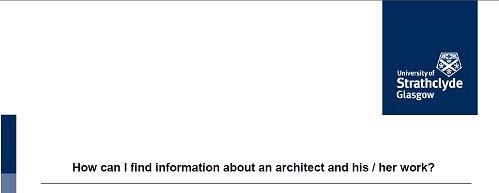Architecture research intro guide
