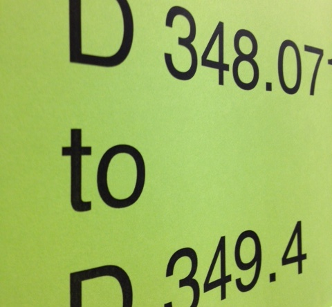 D348.07 to D349.4 (shelf sign)