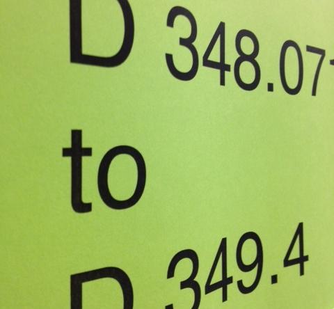 D348.07 to D349.4 (shelf sign)