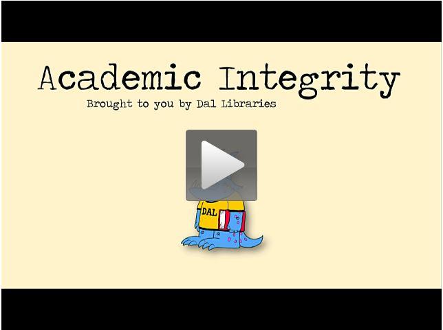 MLA Style: Academic Integrity