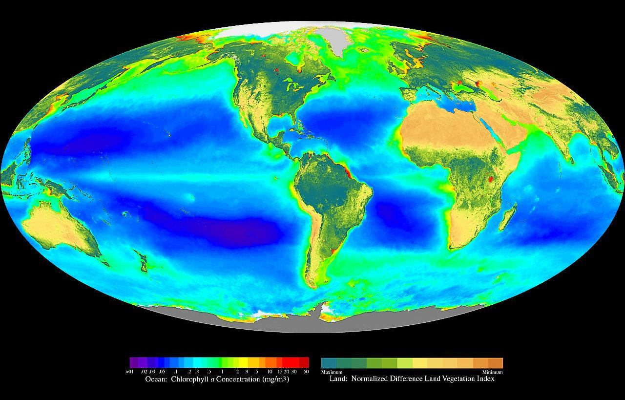 Heatmap of Earth