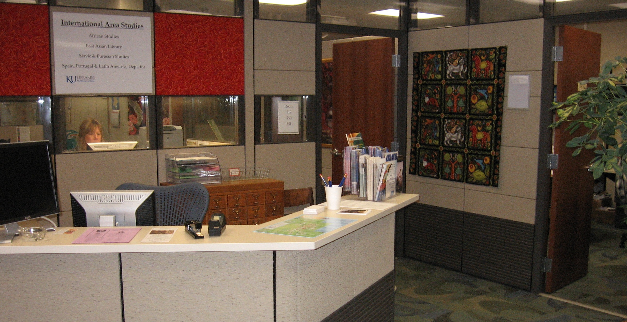 International Collections Department, KU Libraries