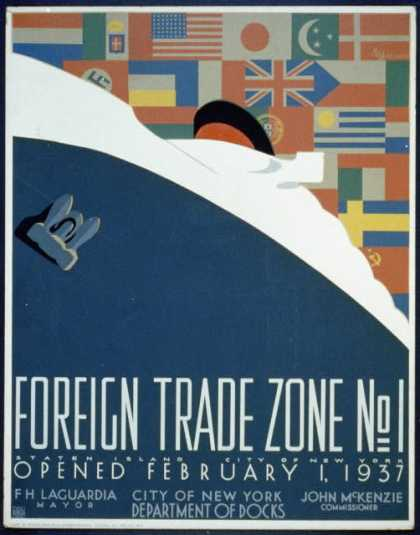 foreign trade zone poster