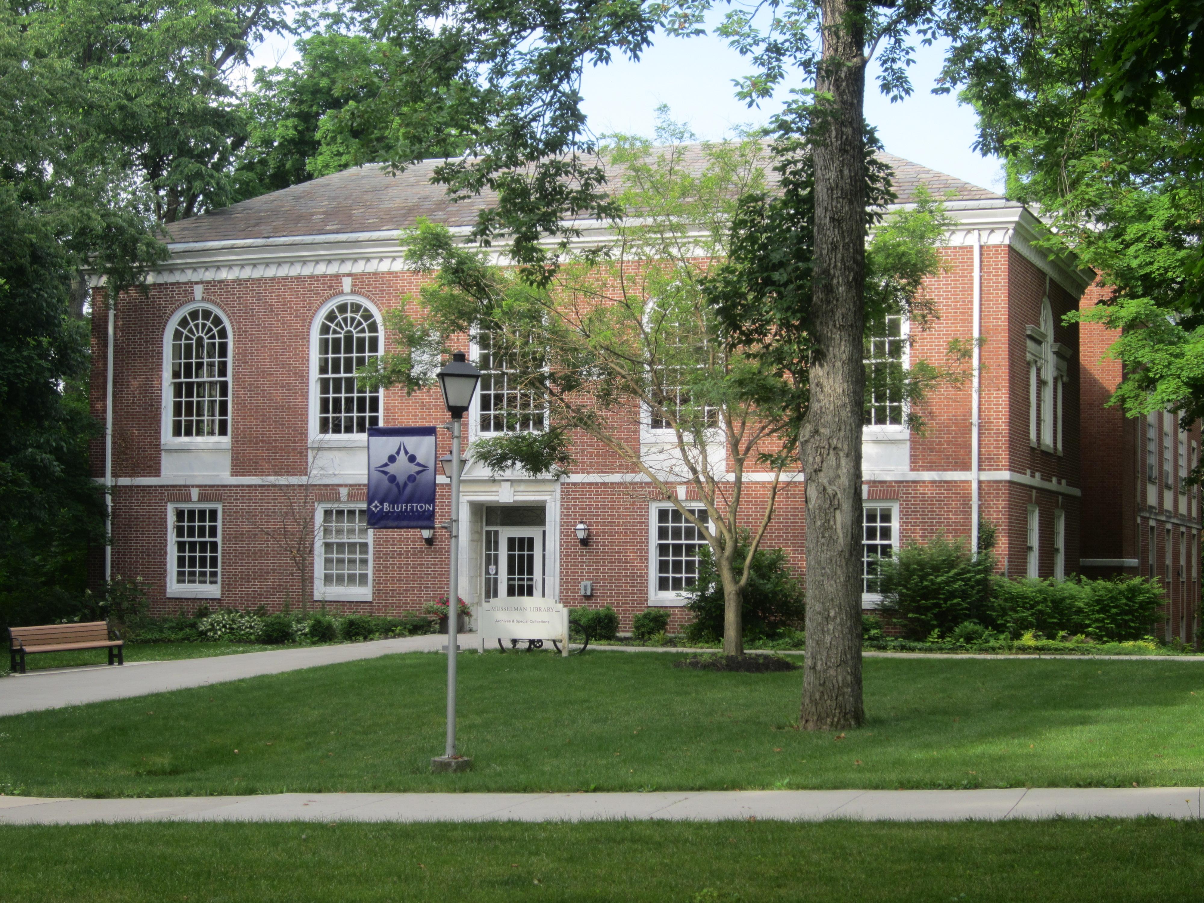 Musselman Library exterior