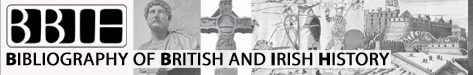 Banner for Bibliography of British & Irish History