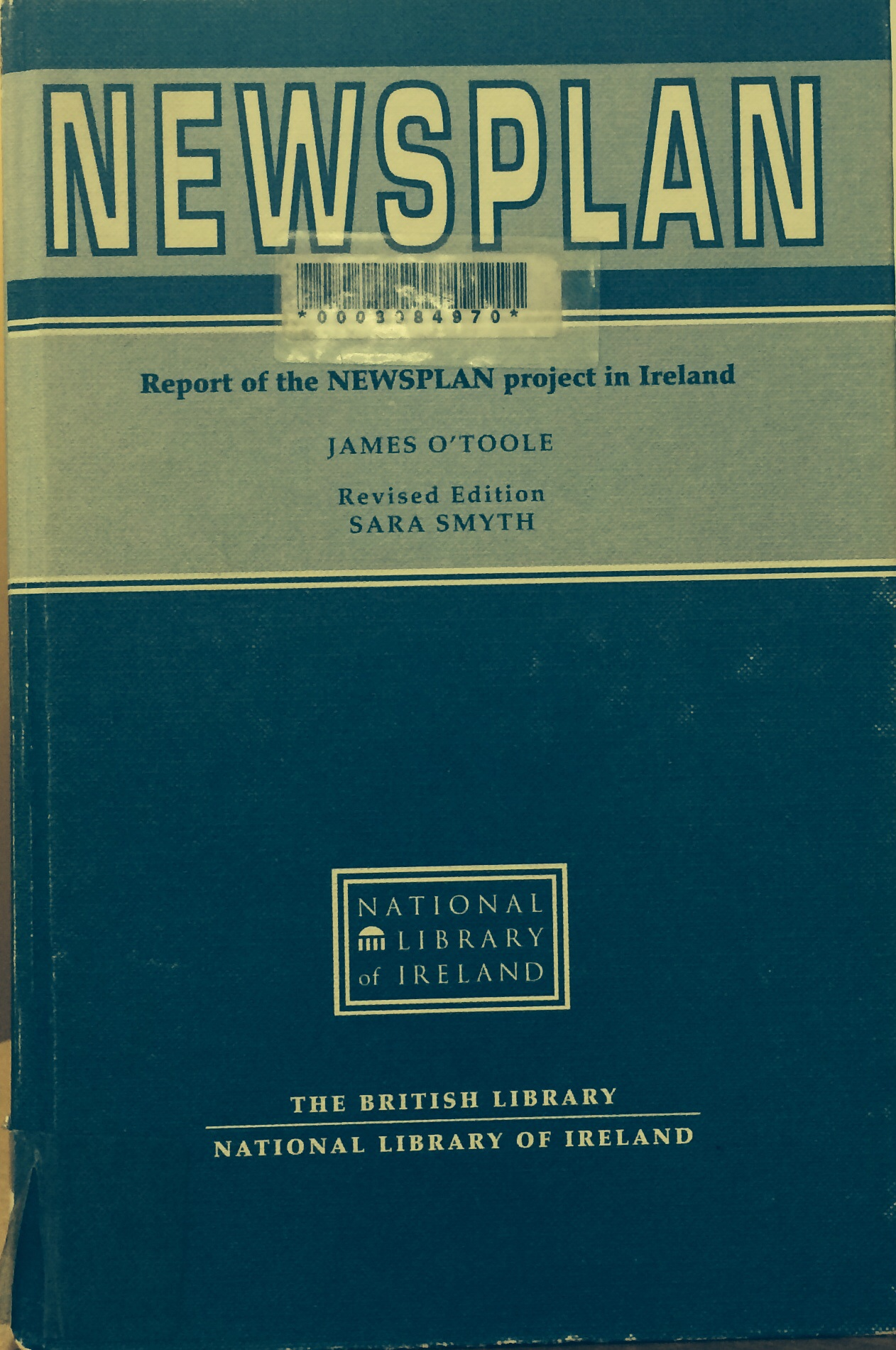 Cover to Newsplan