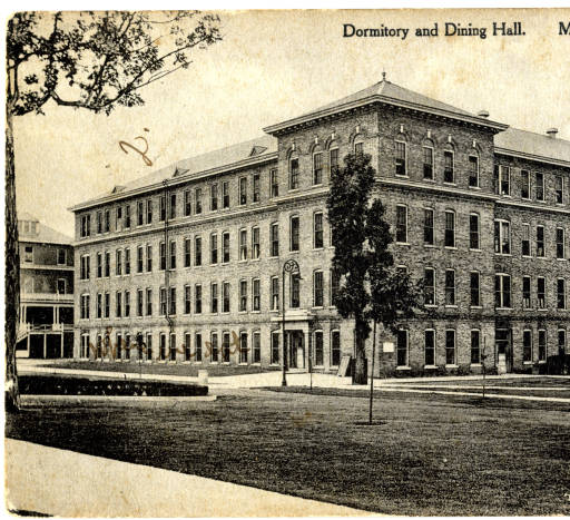 postcard of Old Main
