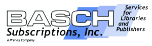 Basch Subscriptions, Inc A Prenax Company. Services for Libraries and Publishers logo