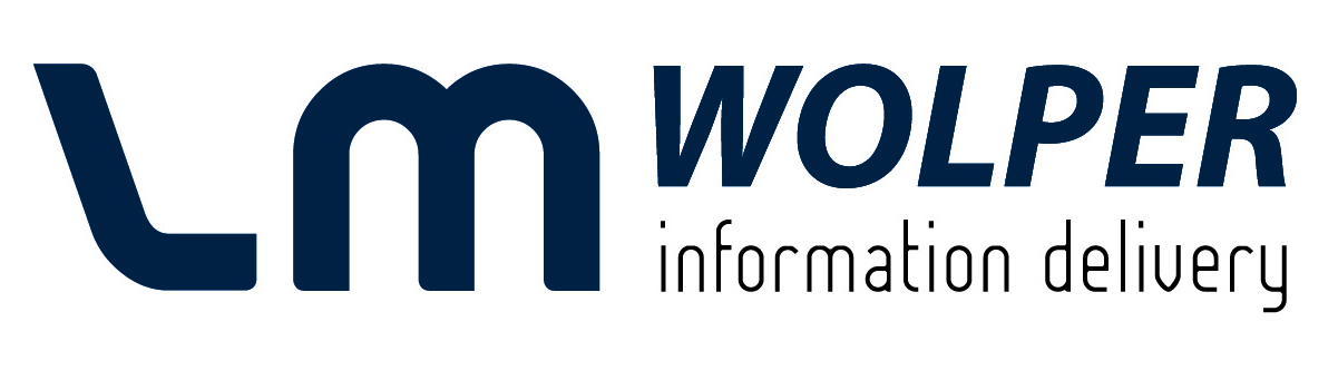 LM Wolper information delivery logo