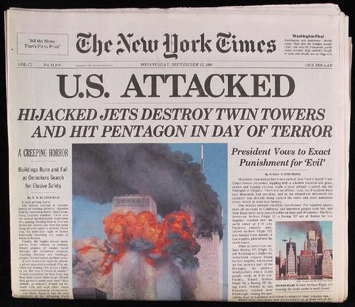 cover of the New York Times