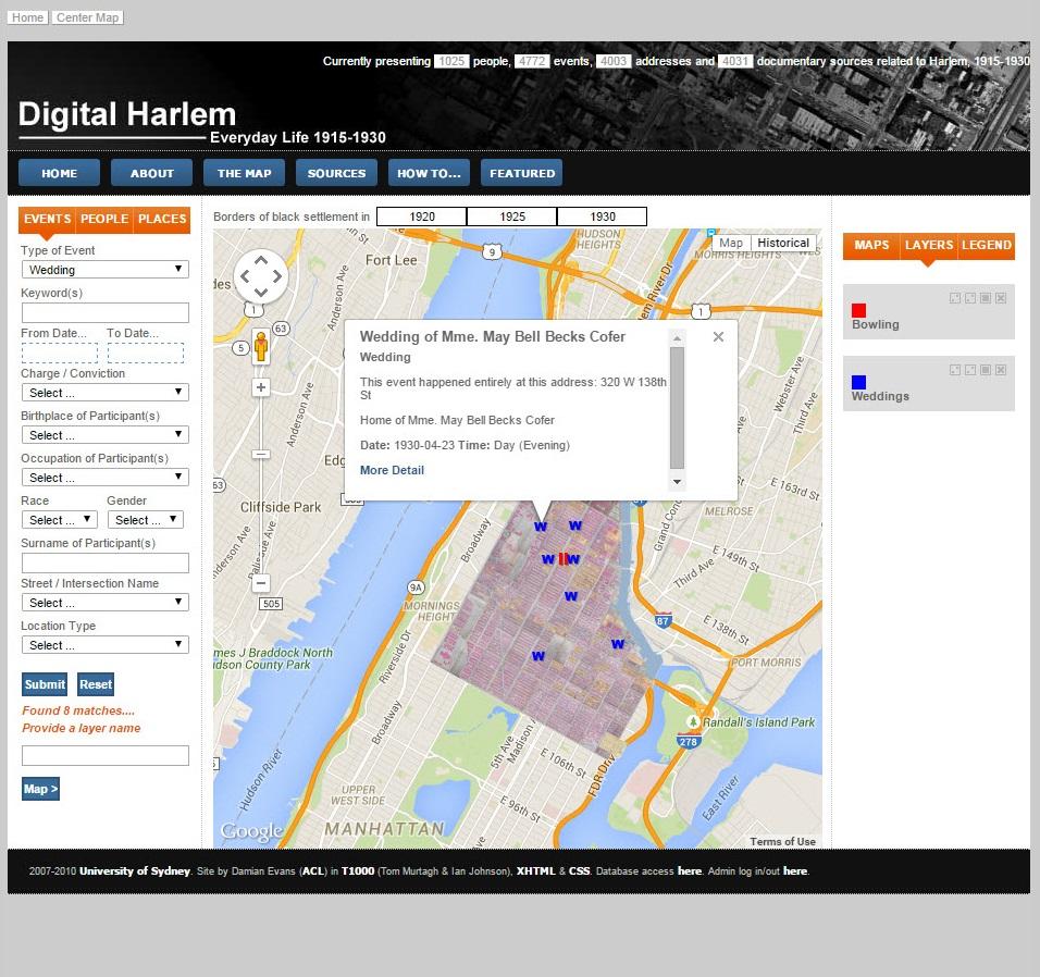 Digital Harlem