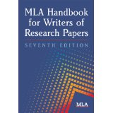 The MLA Handbook book cover