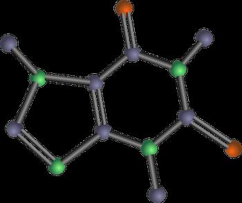 Caffeine Molecule