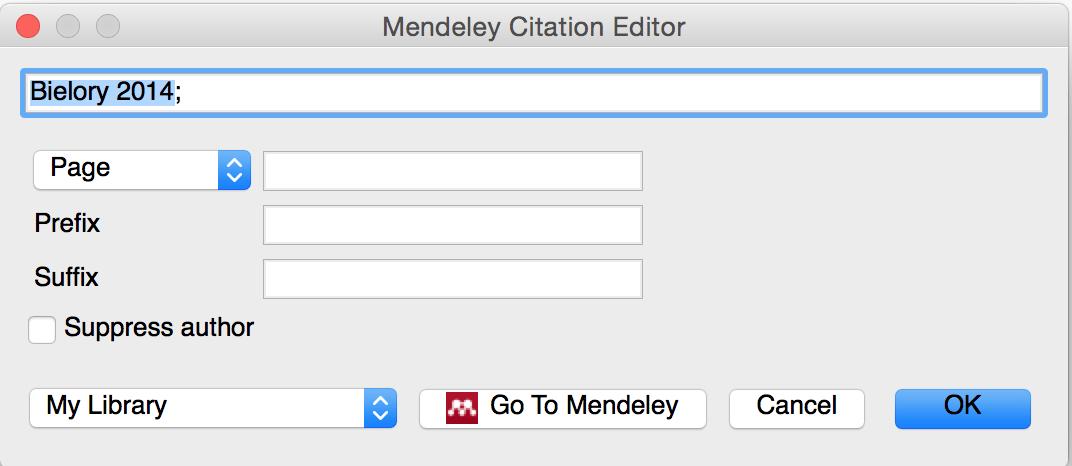 Citation Editor