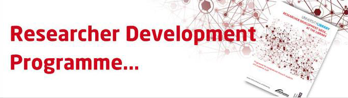 Researcher Development Programme Image Header