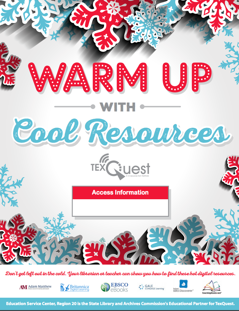 TexQuest Winter Seasonal Flyer