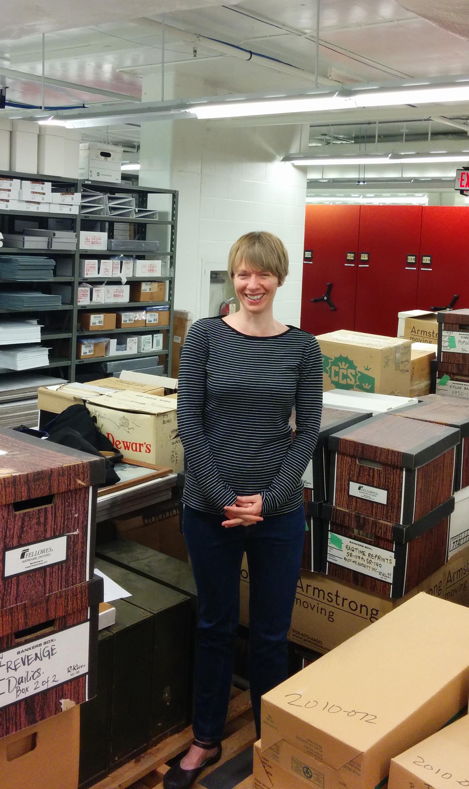 Jennifer Grant, Part-time Archivist