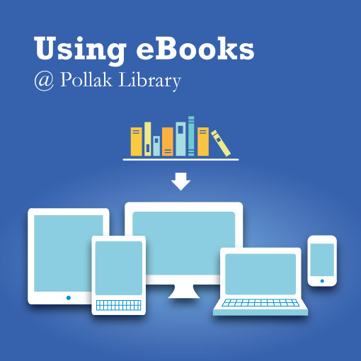 Using eBooks at Pollak Library