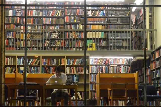 image - library bookshelves