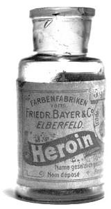 Bayer, Heroin Bottle