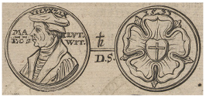 Commemorative Coin Luther, 1706