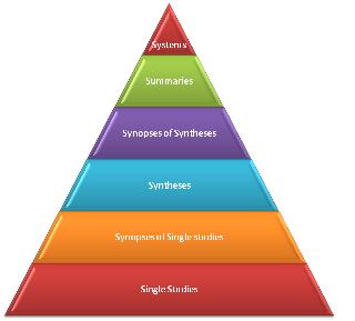 EIDM evidence pyramid