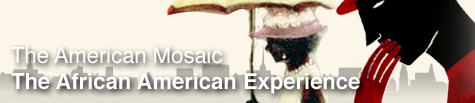 Banner for The American Mosaic: The African American Experience database