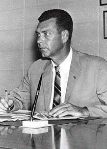 Merton H. Branson, associate director and president
