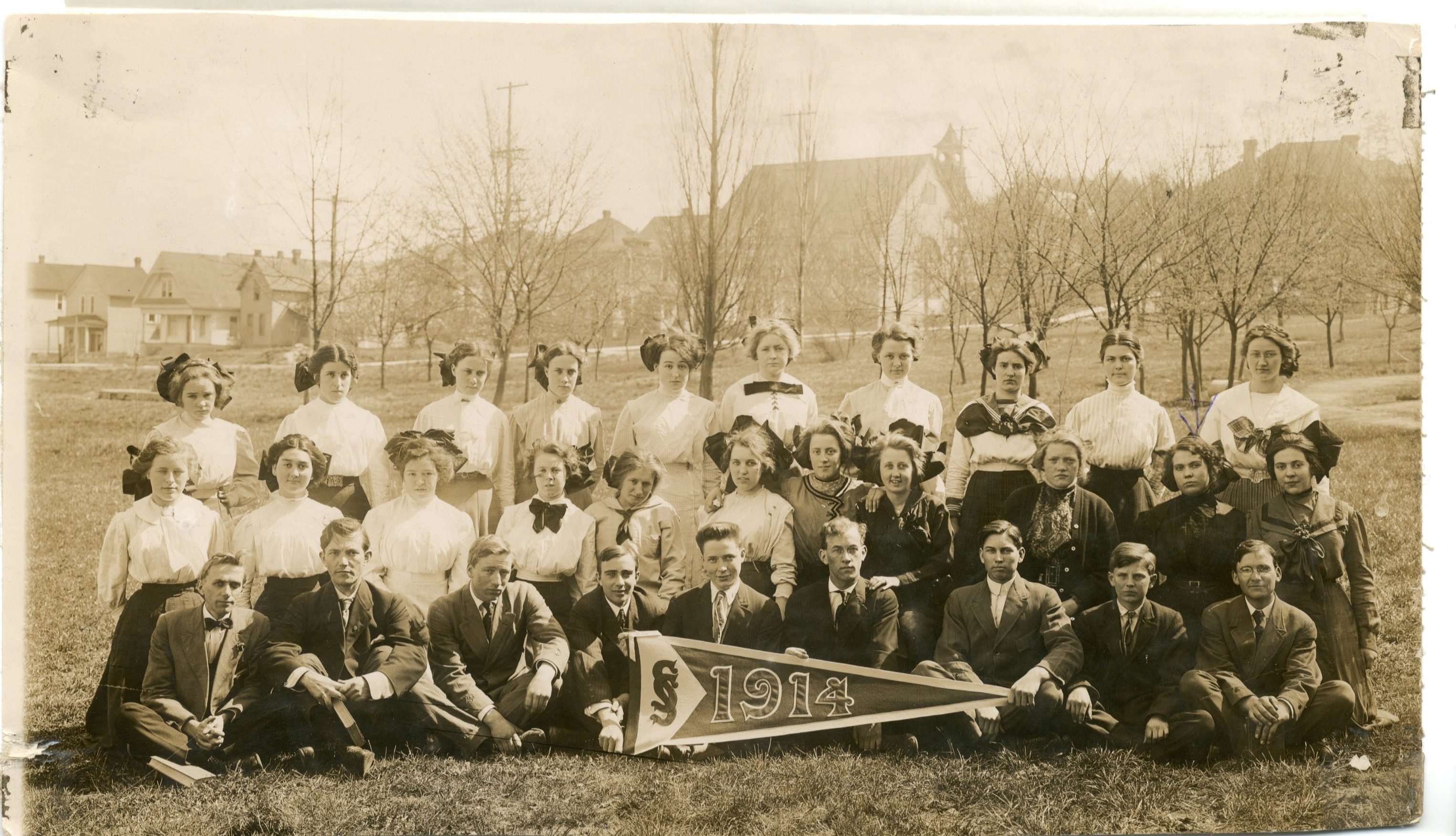 Seattle Seminary and College Class of 1914; SPU Archives