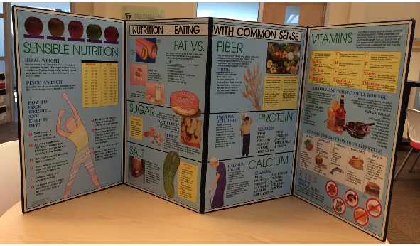 Nutrition Eating with Common Sense Poster