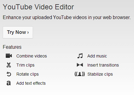 You Tube Editor logo