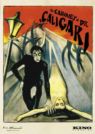 The Cabinet of Dr. Caligari Movie Poster