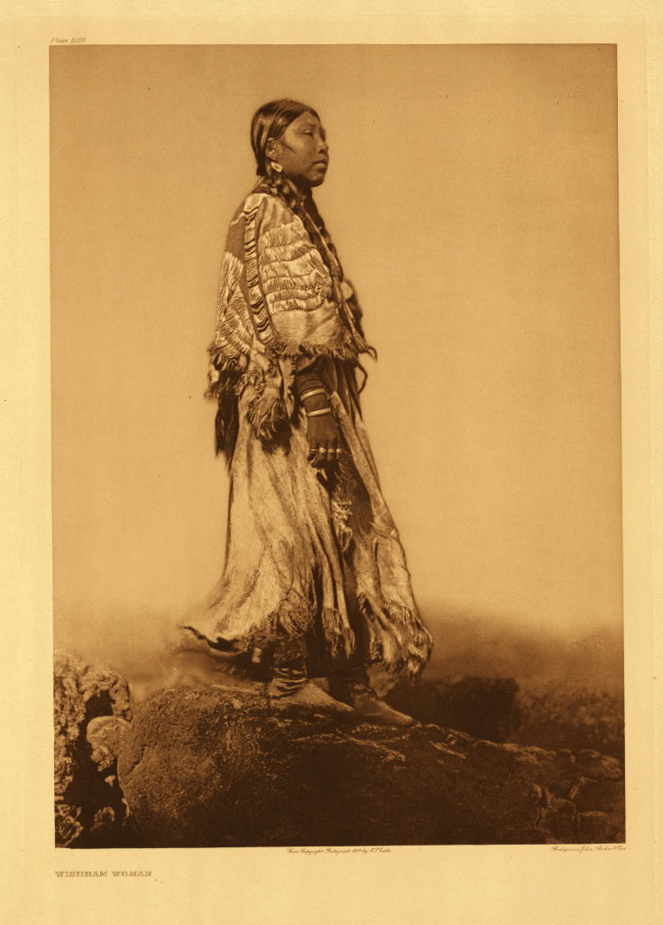 Wishham woman (The North American Indian; v.08)