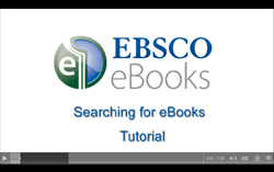 thumbnail for eBook video tutorial