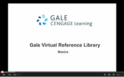 thumbnail for Gale Virtual Reference Library video tutorial