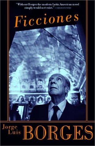 "Cover art of Borges ""Ficciones"" short story collection"