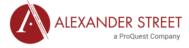 alexander street logo