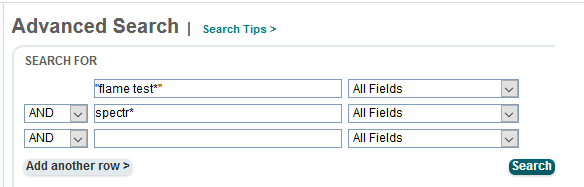 Advanced Search with phrases