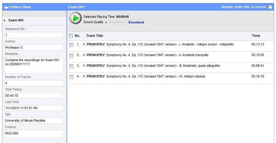 Naxos playlist 3