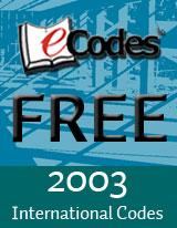 2003 ICC Codes