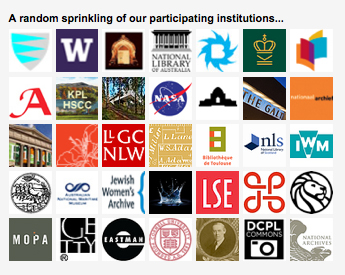 Many institutions participate in Flickr Commons, including Cornell