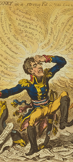 Gillray cartoon