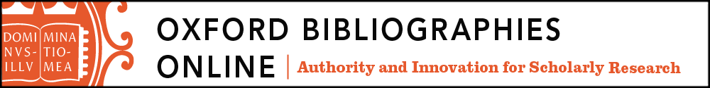 Oxford Bibliographies Online: Authority and Innovation for Scholarly Research